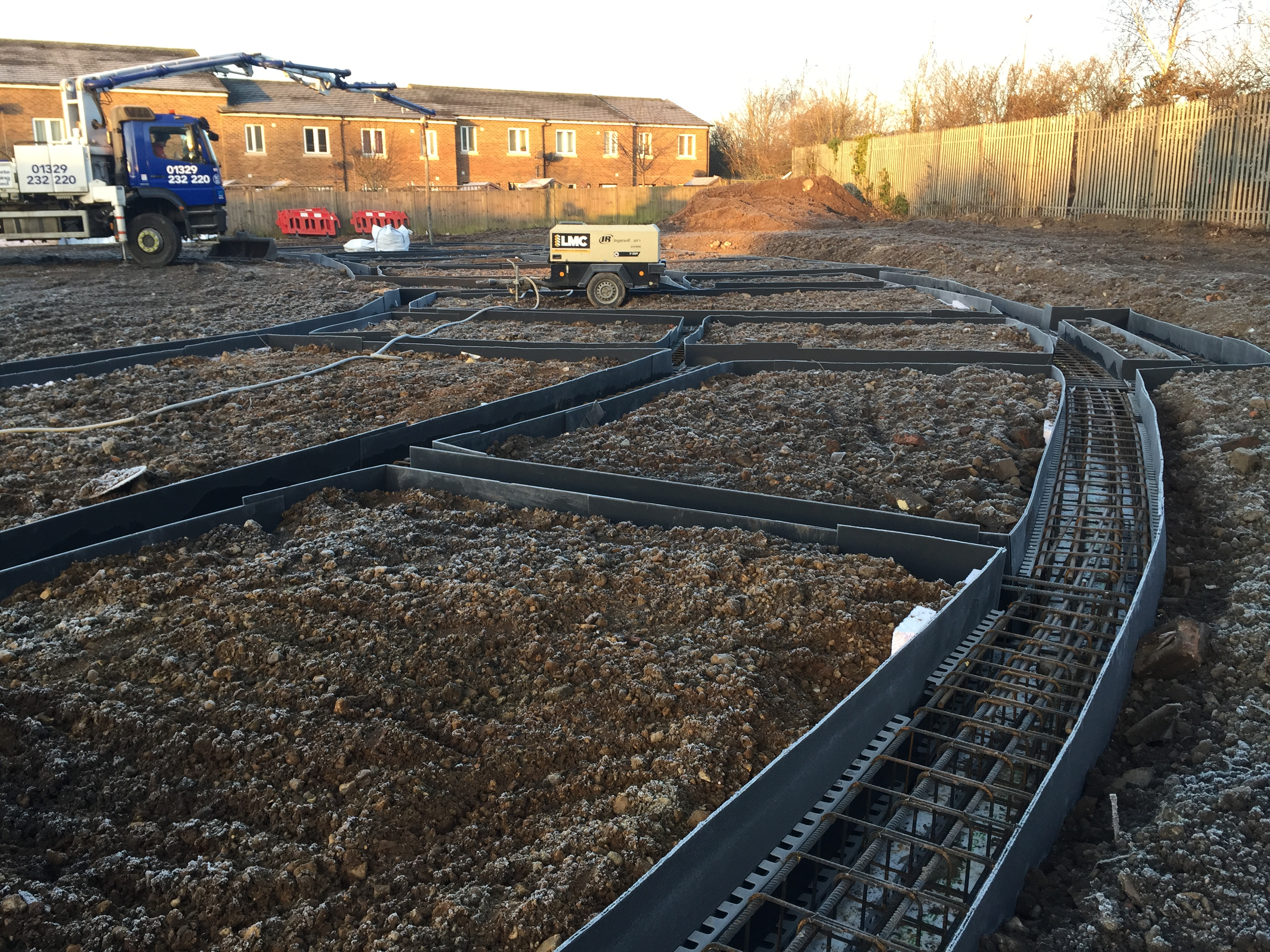 Ground-Beam Construction Hounslow - Client - Cosmur Project Value - £4million